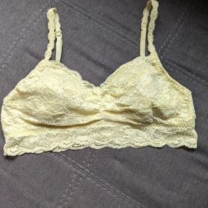 Bundle of Cosabella padded Never Say Never Bralettes